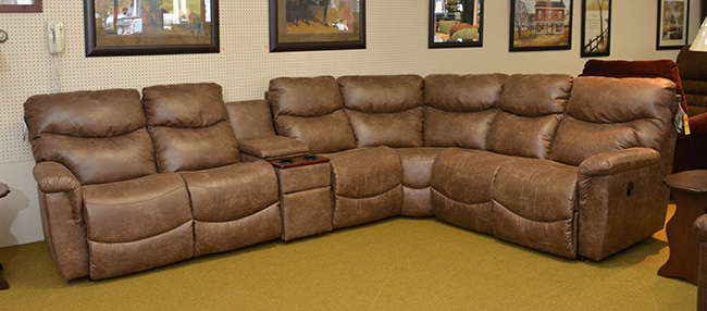 Collins Sectional La Z Boy More Than Your Daddy S
