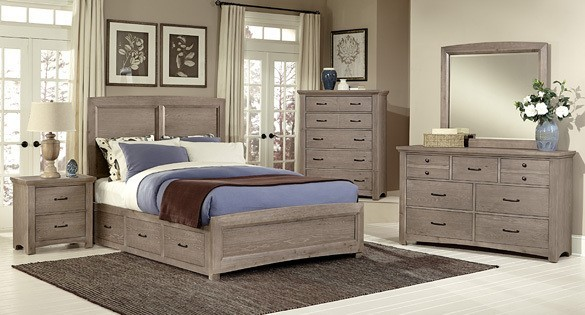 Vaughan-Bassett Transitions Bedroom